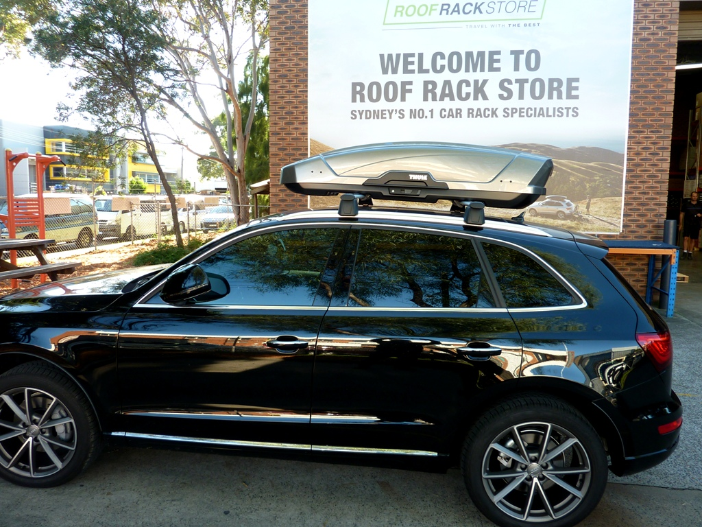Audi Q5 with Thule Motion XT Sport