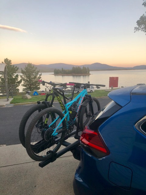 Thule T2 9034 XTB with Jindabyne Sunrise!
