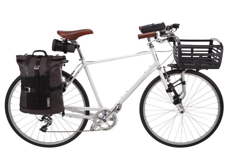 Thule 100050 Pack /'N Pedal 23.5L Bike Basket Black//Silver