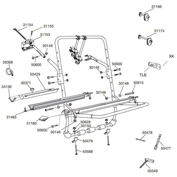 yakima racks parts and accessories