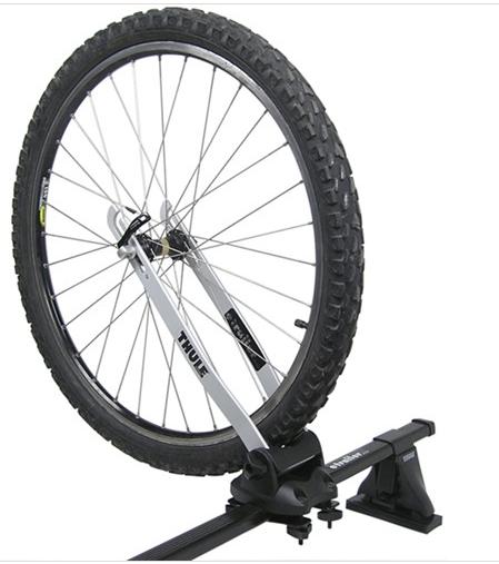 Thule 593 1 Wheel On Wheel Holder Free Shipping
