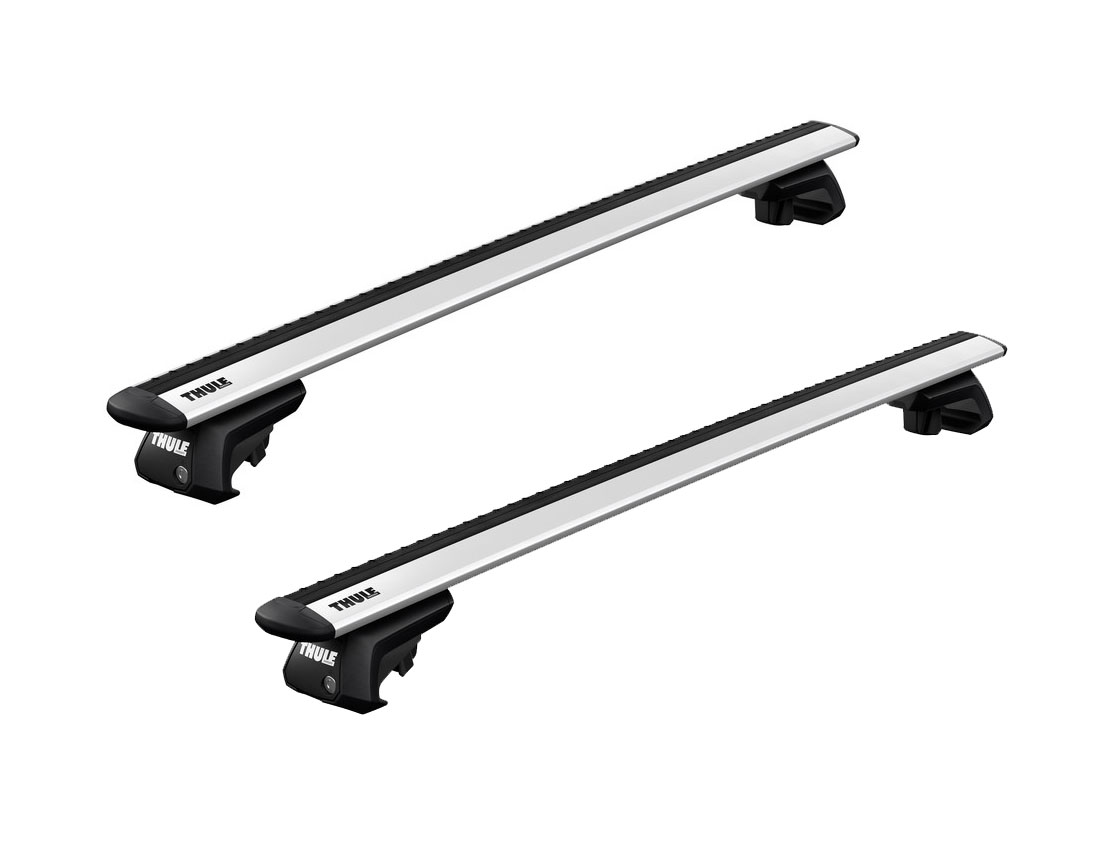 Thule Roof Racks For Honda Odyssey 5dr With Roof Rails 06 2009 01 2014 Wingbar Evo