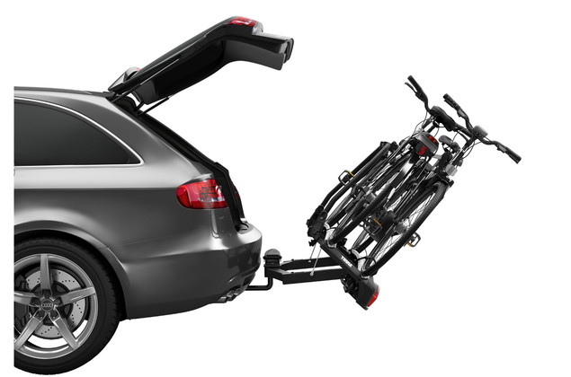 thule velospace 918 2 bike carrier free keyalike shipping. Black Bedroom Furniture Sets. Home Design Ideas