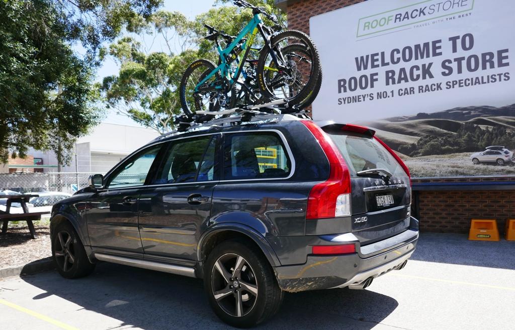 Thule Proride 598 Silver Roof Top Bike Rack 598001
