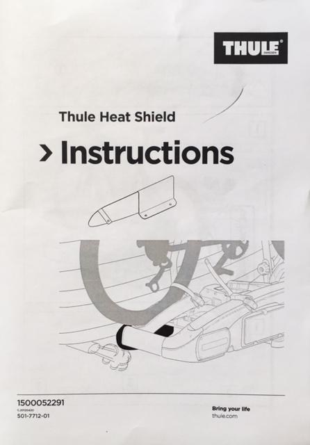 Thule Heat Shield Sp 52291 Instore Online Free Shipping