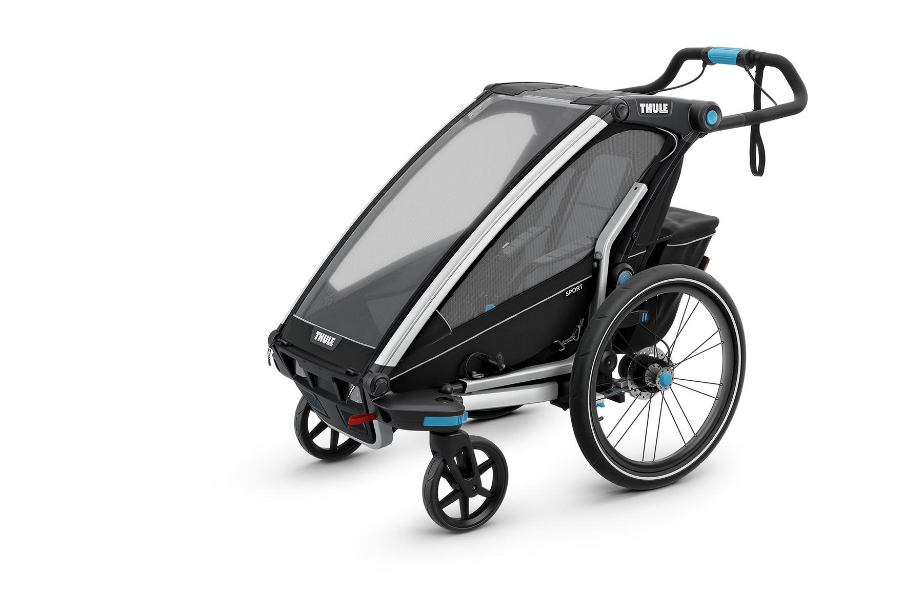 Thule Chariot Sport 1 Black 10201011au