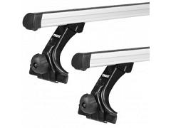 Thule roof racks for Ford Courier, 2 and 4dr Ute 1975 - 01-1999, Professional Bar