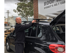 Basic Roof Rack Fitting Service