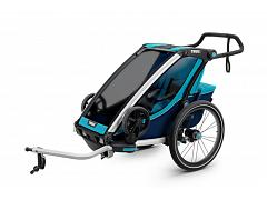 Thule Chariot Cross Trailer 1 Blue 10202001 AU