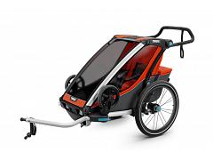Thule Chariot Cross Trailer 1 Roarange/Dark Shadow 10202012 AU
