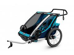 Thule Chariot Cross Trailer 2 Child Blue - 10202003