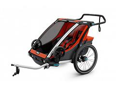 Thule Chariot Cross Trailer 2 Roarange/Dark Shadow 10202014 AU