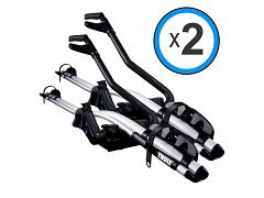 Thule ProRide Silver Twin Pack (2 x BA 591) OLD MODEL