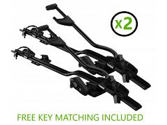 Thule ProRide 598 Black Bike Carrier TWIN PACK