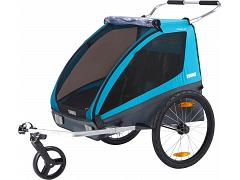 Thule Chariot Coaster XT Bicycle Trailer & Walking Stroller 10101803 AU