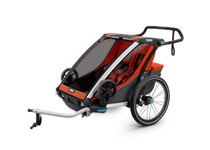 Thule Chariot Cross Trailer 2 Orange 10202004 AU