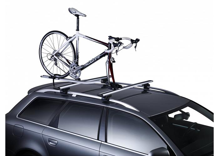 Exceptional ... Thule OutRide Silver Bicycle Carrier 561 ...