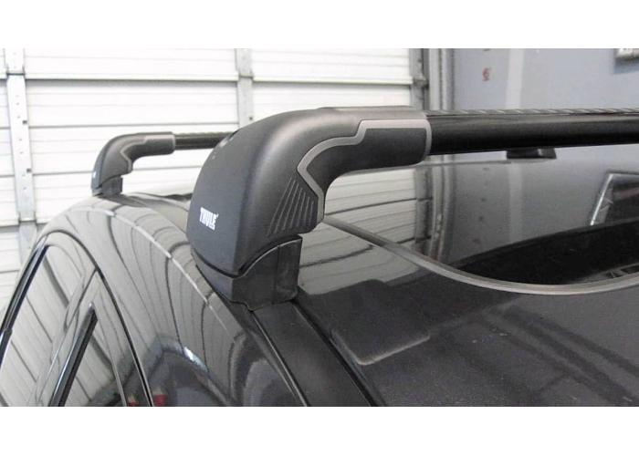 Thule 9592B WingBar Edge Fixed Points Black