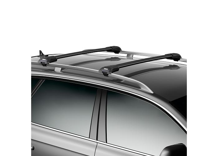 Thule 95812 WingBar Edge Roof Rails Black