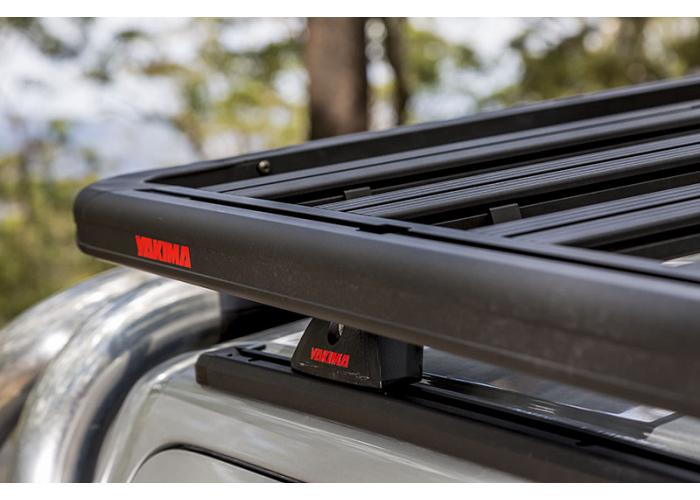 Yakima roof racks for Isuzu MU-X, 5dr Wagon without Solid Roof Rails 2014 on, Platform A