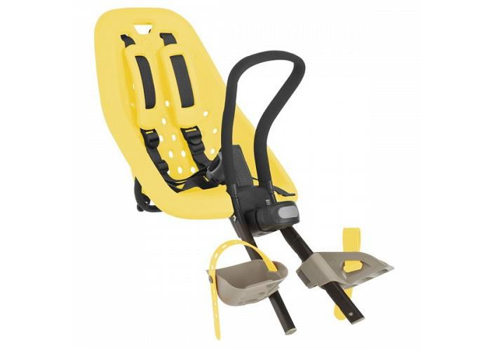 Thule Yepp Mini Front Seat Yellow 020112 and FREE A-head Adapter