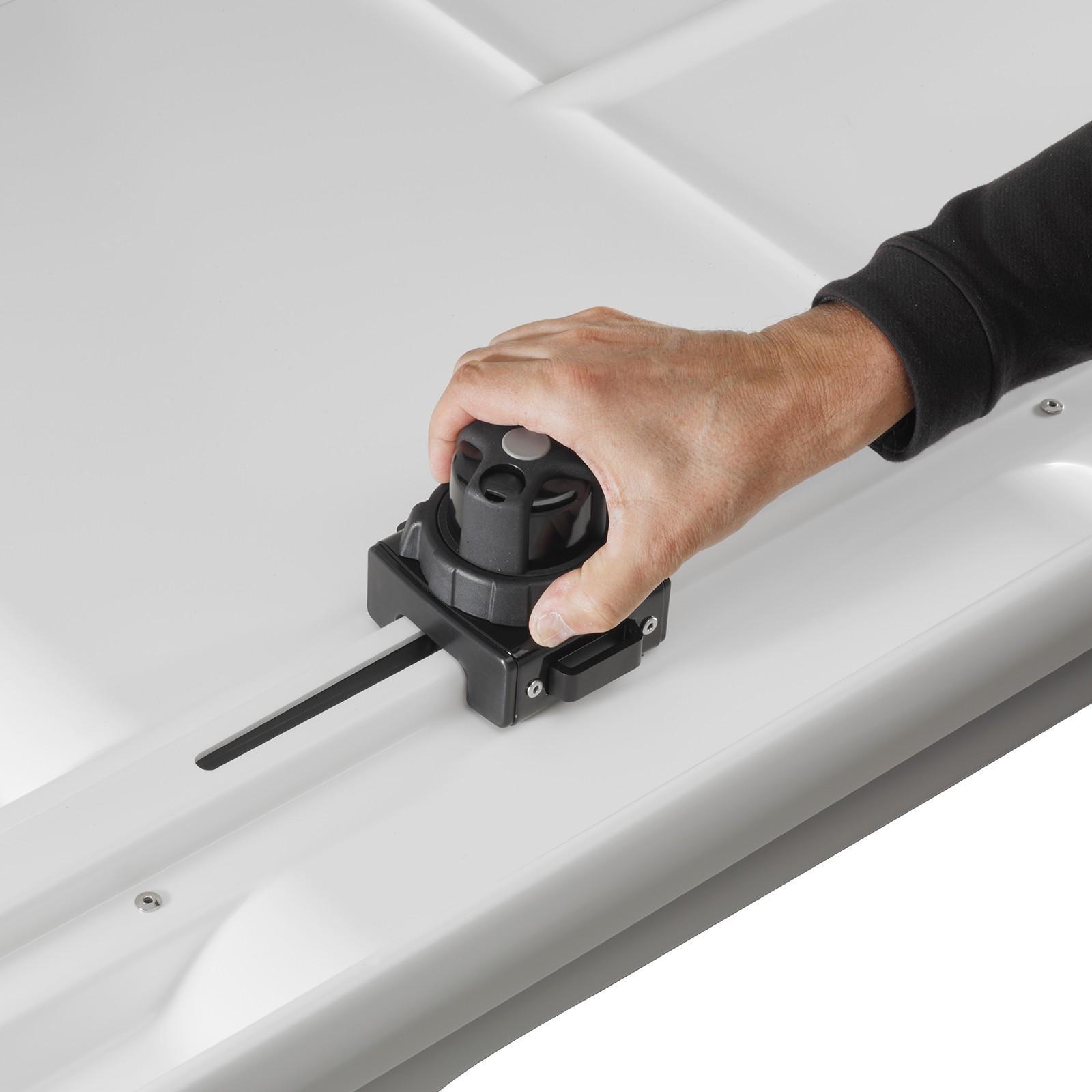 Whispbar Wb752b 450l Roof Box Gloss Black