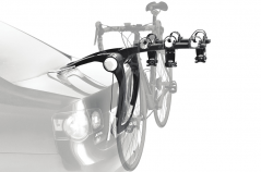 It's safe, simple and secure. The Thule Raceway 992 three bike Lockable clip on carrier is the creme de la creme of the strap on rack world.
